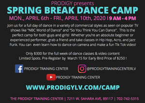 Dance Camp at #ptclv in Las Vegas I Prodigy Training Center I Hip Hop I Jazz Funk and More