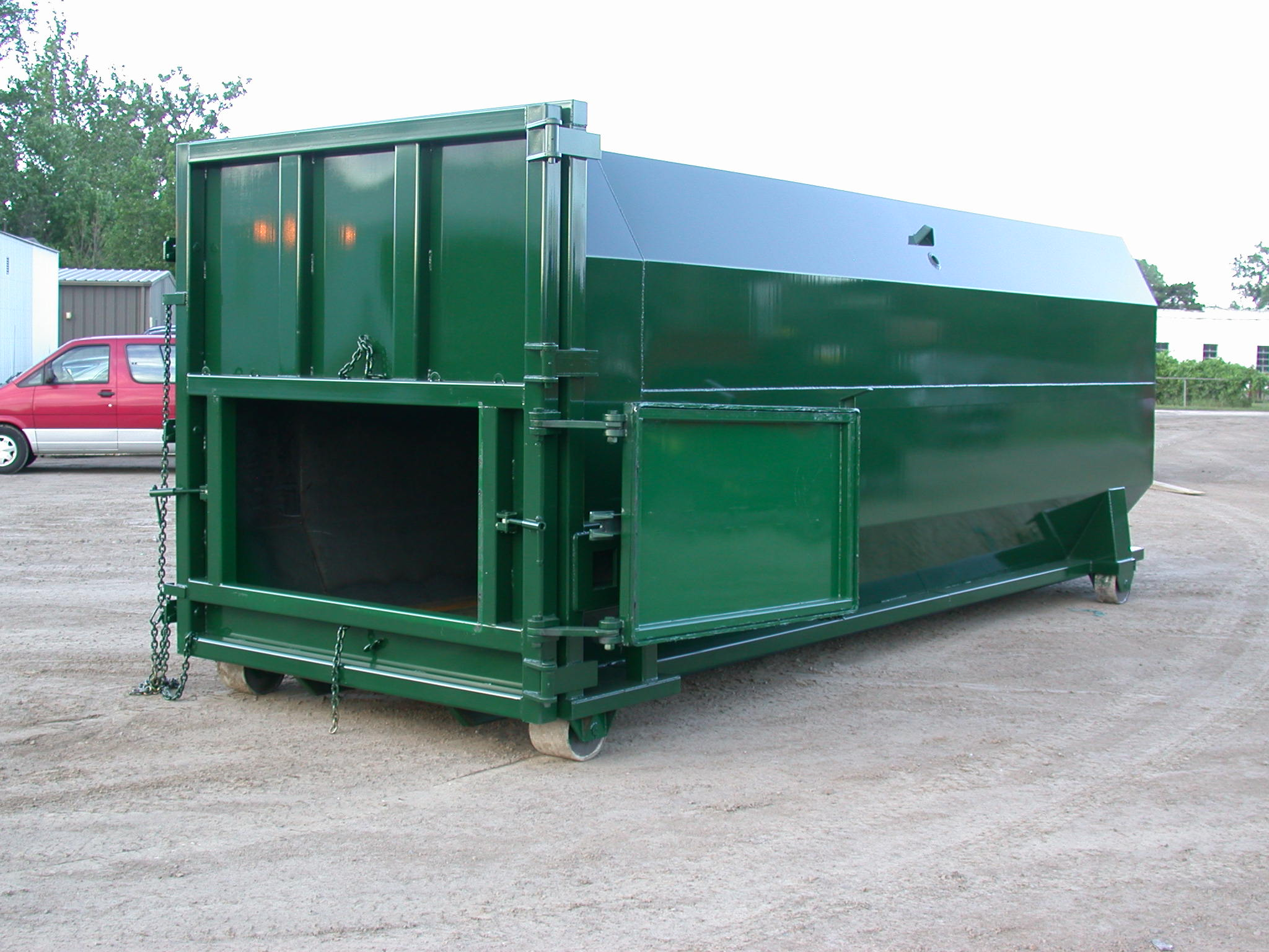 OCT-40 Packer Container