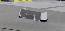 SPSS-1036 Skid-Steer Pusher