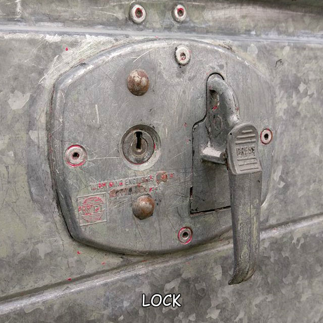 garage door lock handle