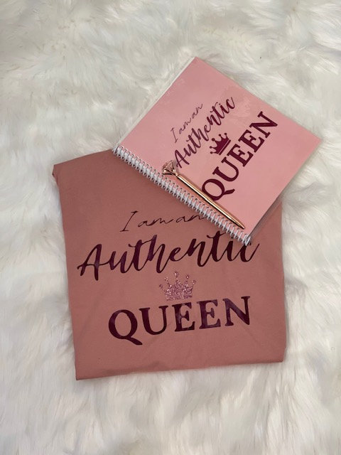 Authentic Queen T-Shirt and Journal
