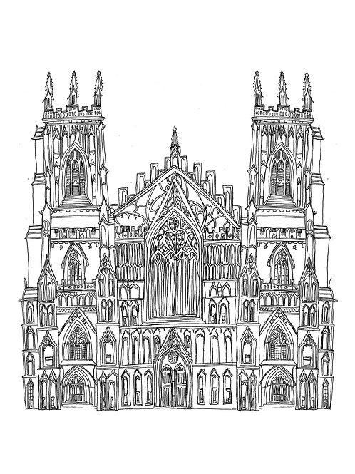 Art Print: York Minster