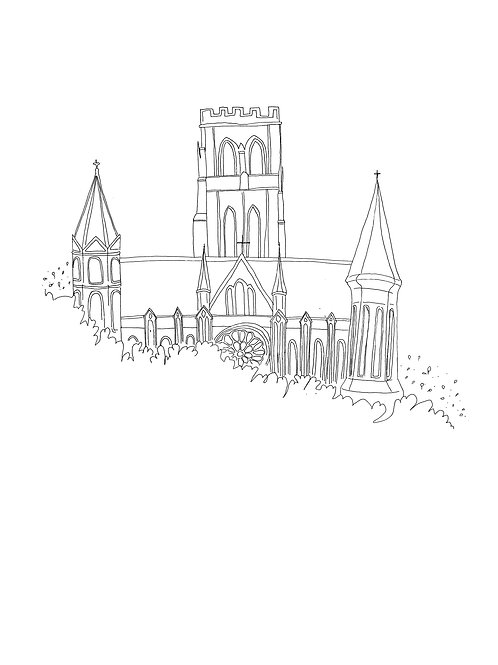 Art Print: Durham Cathedral