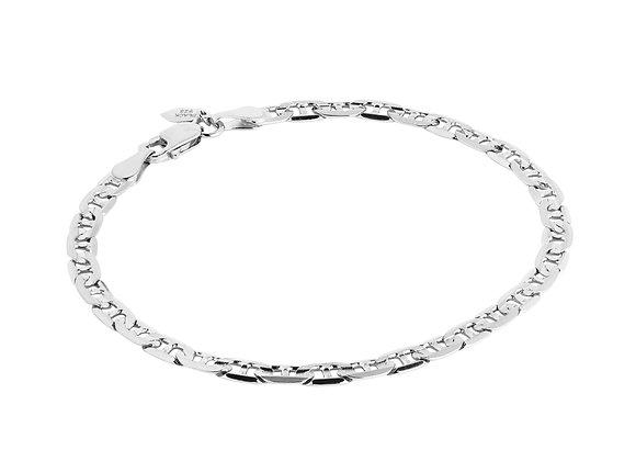 carlo bracelet - sterling silver