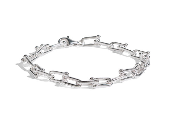 anna bracelet - sterling silver