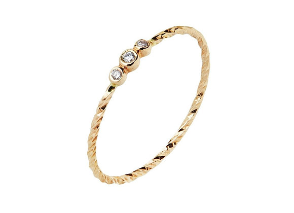 Jessa Ring - 14k Yellow Gold
