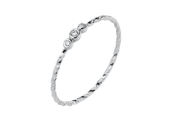 Jessa Ring - 14k White Gold