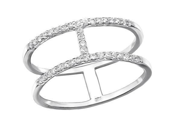 Odette ring - sterling silver