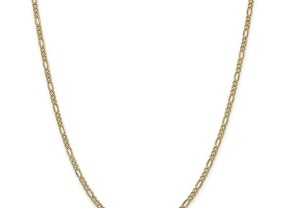 Figaro fine necklace - gold plated