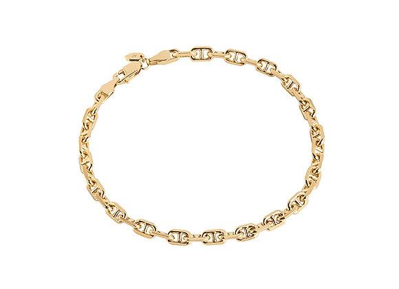 porto bracelet - gold plated