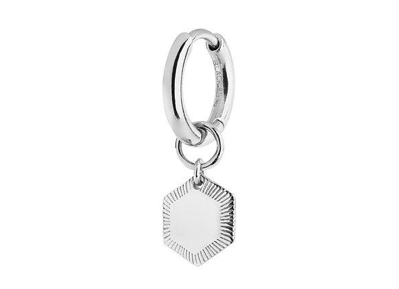 Ravello huggie - sterling silver