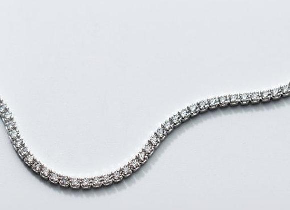 Eternity Choker - Sterling Silver