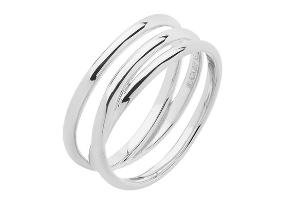 emilie wrap ring - sterling silver