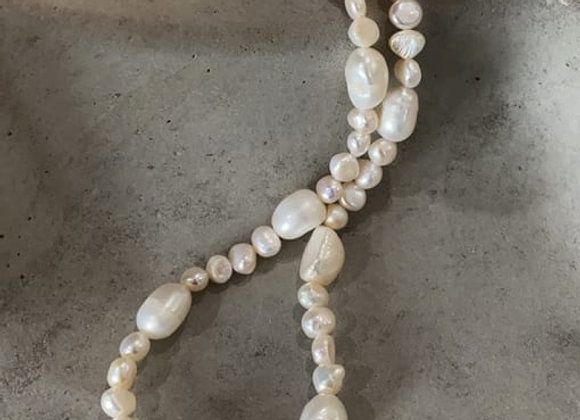 Chunky Pearl - 14k gold plated