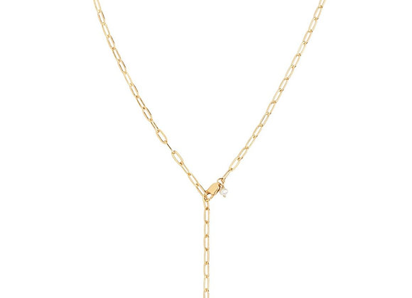 Gemma Necklace - Gold Plated