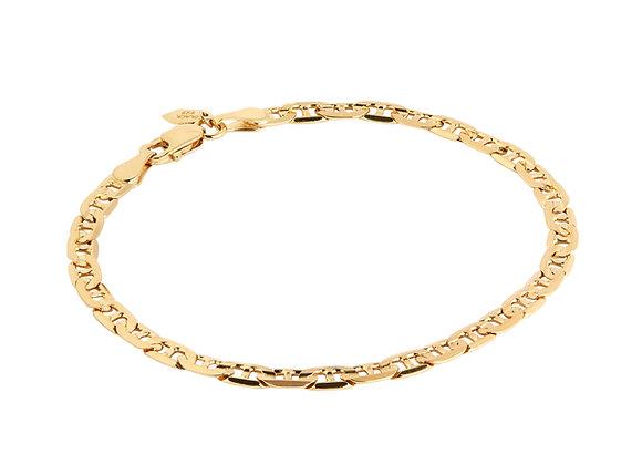 carlo bracelet - gold plated