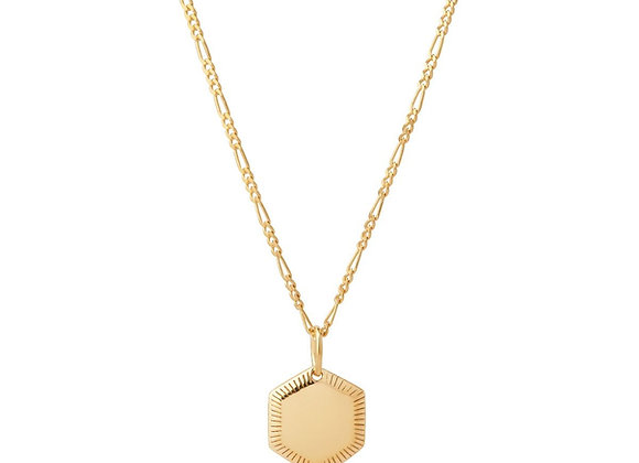 Kim necklace - 18k gold plated