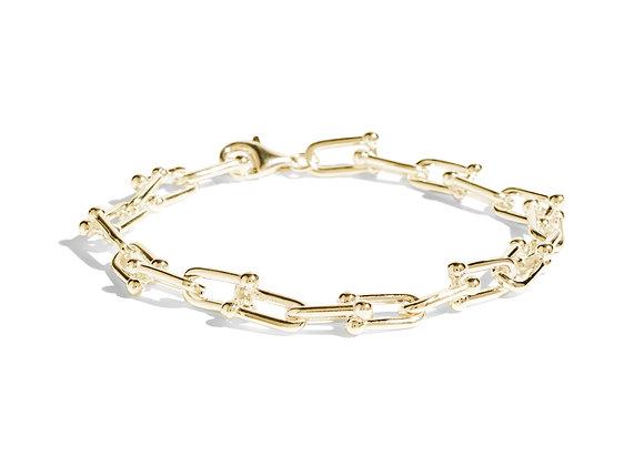 anna bracelet - 18k gold plated