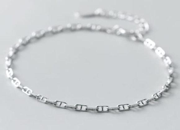 claire bracelet - sterling silver