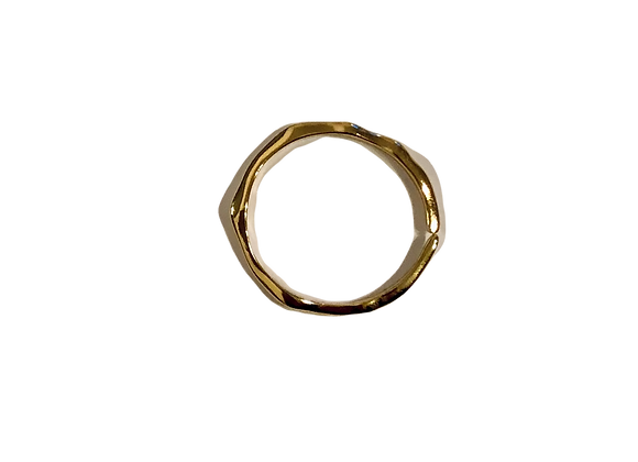 Charlotte ring - 14k gold plated