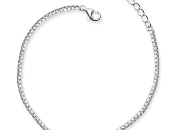 Eternity bracelet - sterling silver