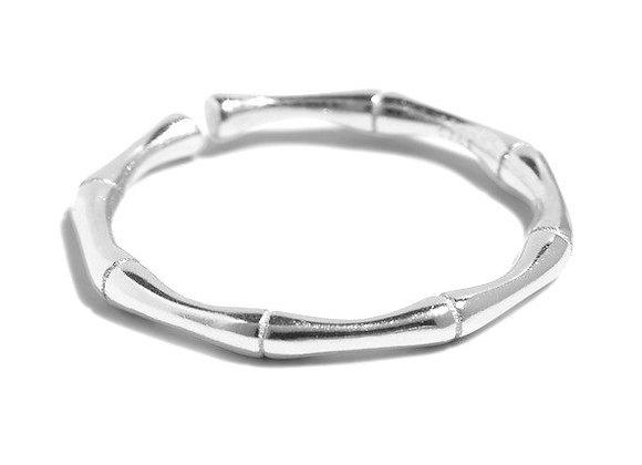panda ring silver