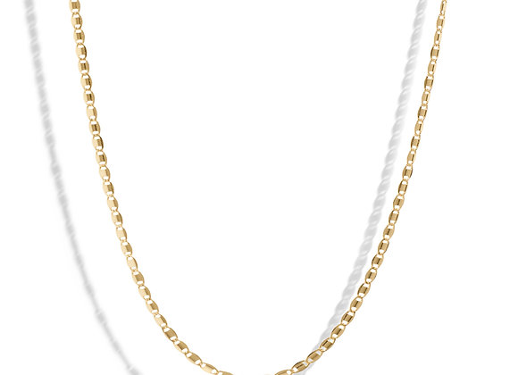 piper necklace - 18k gold plated