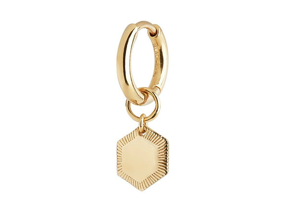 Ravello huggie - gold plated