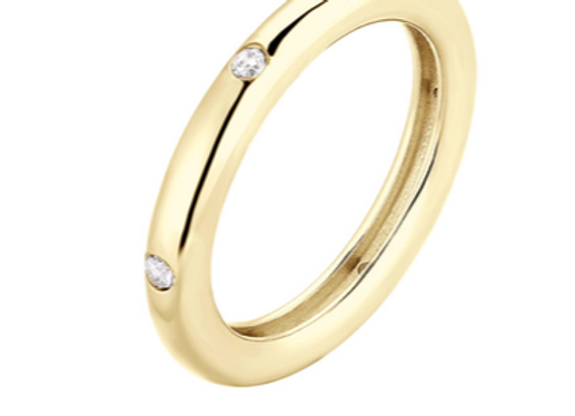 june ring - gold plated