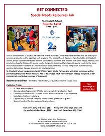 Special Needs Resources Fair Exhibitor P