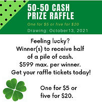 Feeling lucky One lucky winner will receive half of a pile of cash. Click here to get your