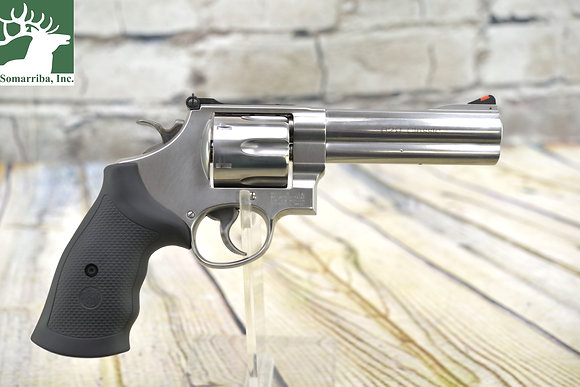 """S&W REVOLVER 163636 629 CLASSIC 44 MAG 5"""" 6RDS ADJUSTABLE REAR SIGHTS SS/ BLK"""