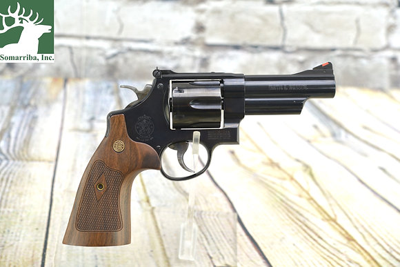 "SMITH & WESSON  REVOLVER 150254 29 CLASSIC 44 REM MAG 4"" 6RDS CHECKERED SQUARE"
