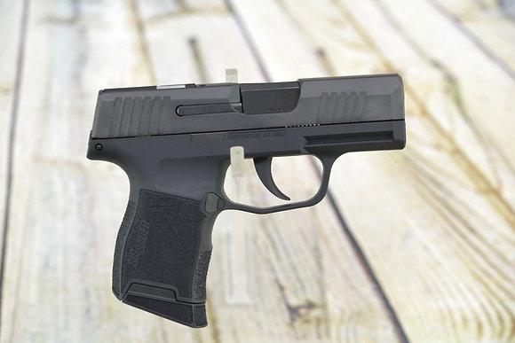 "Sig Sauer Pistol  3659SAS P365 SAS 9mm Luger 3.10"" 10+1 Black Steel, Black Poly"