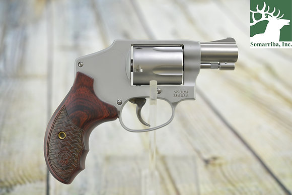 SMITH & WESSON REVOLVER 170348 642 PERFORMANCE CENTER DOUBLE 38 SPECIAL +P 1.875