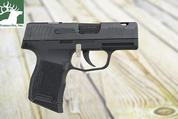 "Sig Sauer 365-9-SAS-C P365 SAS 9mm Luger 3.10"" 10+1 Black Nitron Ported S/S"