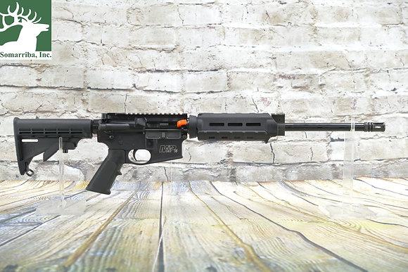 """Smith & Wesson 12024 M&P15 Sport II OR 5.56x45mm NATO 16"""" 30+1 Black"""