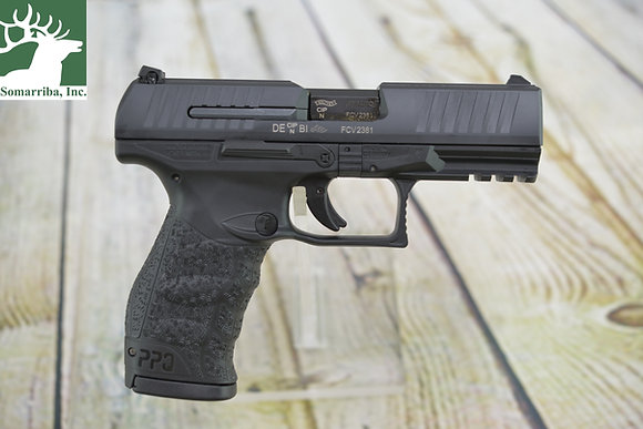 "WALTHER ARMS PISTOL 2807076 PPQ M2 45 ACP Double 4.25"" BBL (2) 12RND MAGS Black"
