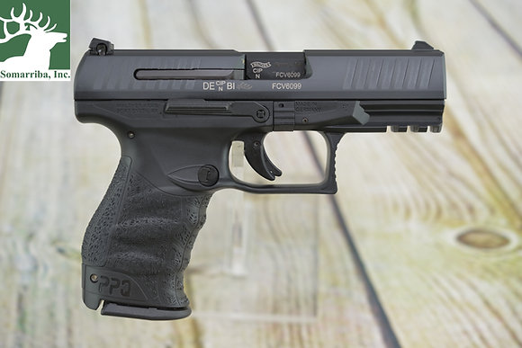 "WALTHER PISTOL 2796066 PPQ M2 9MM 4"" BBL (2)15RD MAGS DAO 3-DOT SIGHTS"