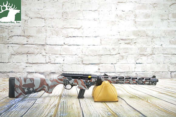 RUGER RIFLE PC CARBINE 9MM AMERICAN FLAG