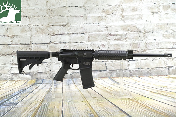 """Smith & Wesson 10159 M&P15 Sport II OR 223 Rem,5.56 NATO 16"""" 30+1 Matte Black 6"""