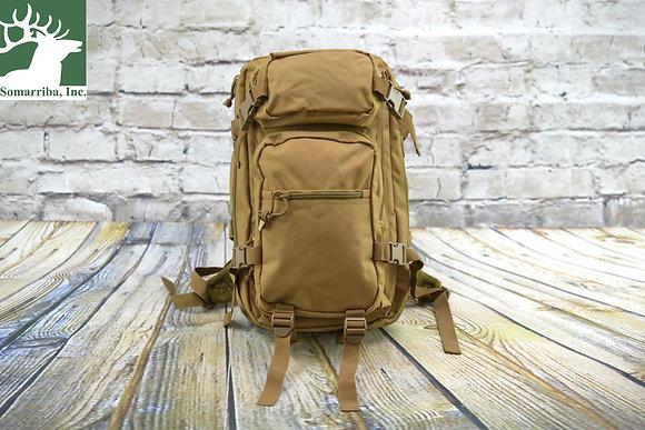 "Glock AS02001 Multi-Purpose Backpack 1000 Denier Polyester Coyote Brown 18"" x 11"