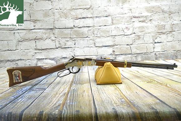 "Henry H004MAS Lever Freemasons Tribute Lever 22 Long Rifle 20"" 16+1"