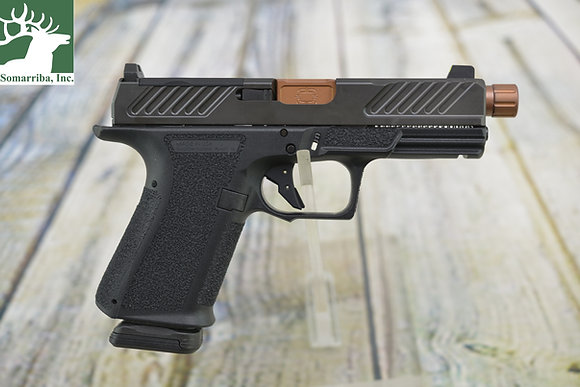 """SHADOW SYSTEMS PISTOL MR920 COMBAT 9MM 4.5"""" BBL 2 15-ROUND MAG FEATURES: OPTIC"""