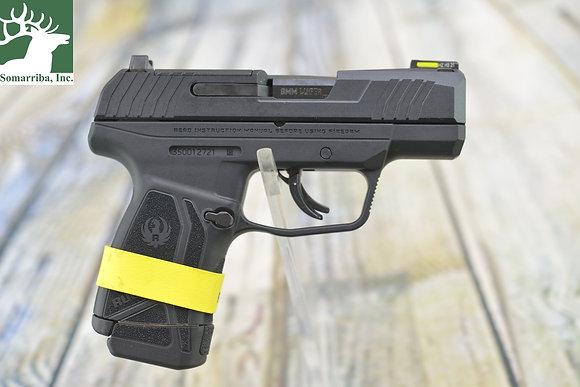 """Ruger Pistol 3500 Max-9 Optic Ready 9mm Luger 3.20"""" 10+1,12+1 Black Black Oxide"""