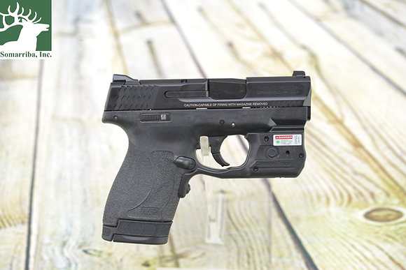 "SMITH & WESSON  PISTOL 11817 M&P 40 SHIELD M2.0 LASERGUARD PRO 40 S&W 3.10"" BBL"