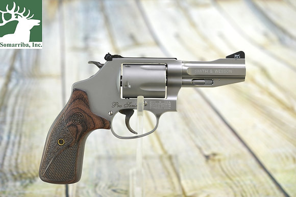 "S&W REVOLVER 178013 60 PRO 357 REM MAG 3"" BBL 5RDS SS/WOOD GRIP"