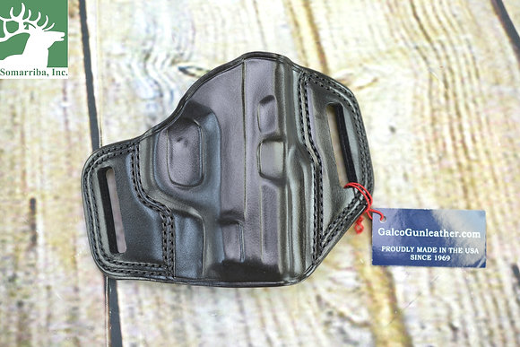 GALCO HOLSTER COMBAT MASTER COMBAT BELT HOLSTER CM652B S&W SHIELD RH BLK