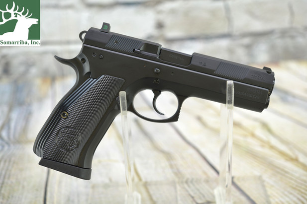 Pistol Review: The CZ 97 BD