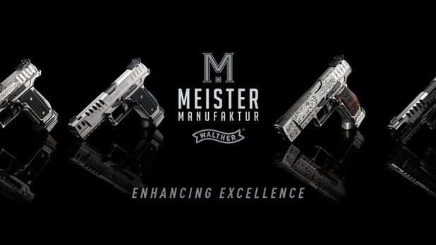 Get Ready For The Exclusive Walther Meister Manufaktur Custom Pistols!